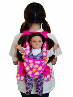 Child's Backpack Doll Carrier, 2 Colors - accessories for American Girl® and other 18 inch dolls
