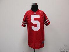 Nike Ohio State University Buckeyes Football Jersey #5 sz 5 Kids L Large NCAA #Nike #OhioStateBuckeyes