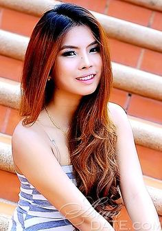 attractive Asian lady Nuntachporn from Chiang Mai, 25 yo, hair color Ginger Asian Woman, Asian Girl, Ginger Hair Color, Chiang Mai, Beautiful Asian Women, Asian Dating, Marriage, Long Hair Styles, Searching