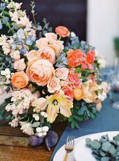 Gorgeous peachy arrangement