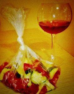Tris di verdure al microonde
