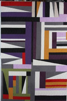 Vintage Mojo Gees Bend African American Quilt, #quilts