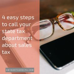 How to call your state department of revenue about sales tax questions - The Accountant for Creatives  AmyNorthardCPA.com