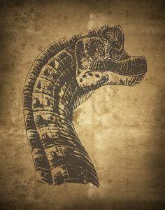 Free Dino Prints : Lynn Spin