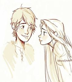 hiccunzel | Rapunzel fangirling over Hiccup(We've all been there). Hiccunzel ...