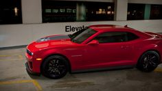 Camaro ZL1 Coupe Victory Red