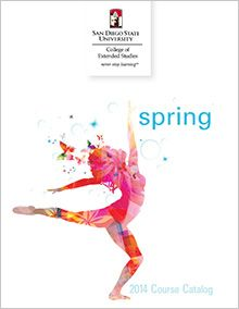 #SDSU College of Extended Studies 2014 Spring #Catalog