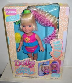 These were the best! You would crank the arm up and down and her hair would grow haha