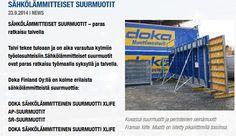 Sisällöntuotanto: Tuotevalokuvaus. Doka Finland. // Product photography for construction industry. #Photography #MarikaWork