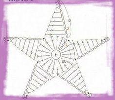 háčkovaná hvězda návod - Hledat Googlem