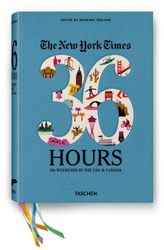36 Hours In 150 Places, from Taschen and the New York Times - got this for us for Valentine's Day to start planning our US long weekend travel and it's already inspiring us - not just for travel but also with content for our home city (nyc) - think it will be a valuable book in many ways!