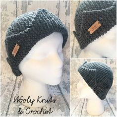 MADE to ORDER, Knit Jughead hat, Adult size