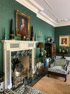 Estilo Adam, Adam Style, Obelisks, Mantle Piece, Georgia Usa, Grand Tour, Drawing Room, Textured Walls, Home Interior Design
