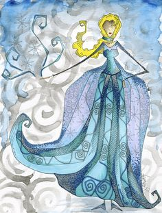 The Cold Never Bothered Me Anyway Art Print by Jena Sinclair | Society6