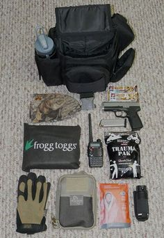 The UTG Tactical Messenger bag holds a surprising amount of essential gear while keeping it well organized and can be used as an urban Get Home Bag.