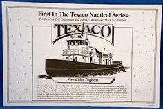 "Texaco ""Fire Chief"" Tugboat Bank"