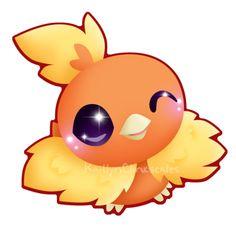 Torchic by Clinkorz on DeviantArt Pokemon Omega Ruby, Pokemon Emerald, Cute Pokemon, Pokemon Stuff, Ghost Type, Cute Pikachu, Pokemon Images, Bulbasaur, Pictures To Draw