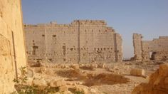 Ruins of the Osiris Temple at Taposiris Magna