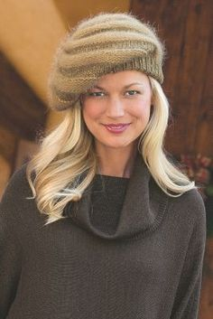 Knit Beret from Soft Surroundings