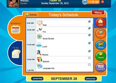 Wonkido Organizer, Daily schedule, mood journal, daily assignments, to-do lists and behavior chart.  from Teaching Learners with Multiple Special Needs.