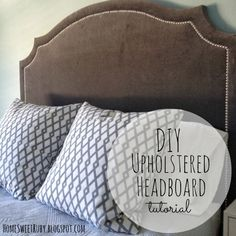 Home Sweet Ruby: DIY Upholstered Headboard