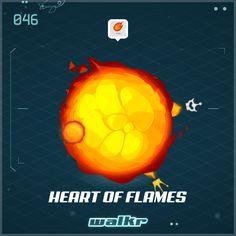 """Look at my beautiful planet """"Heart of Flames""""! http://galaxy.walkrgame.com/ZeEJzshEjBQ/10"""