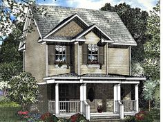 Eplans Cottage House Plan - Two Bedroom Cottage - 980 Square Feet and 2 Bedrooms(s) from Eplans - House Plan Code HWEPL62215