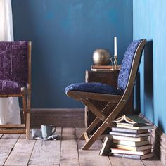 Get the handmade look with patchwork furniture.