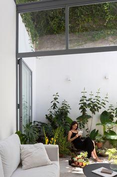 Home Interior Design, Interior Architecture, Micro House, Small Patio, Outdoor Areas, Home And Living, Living Room, Home Deco, Interior Inspiration