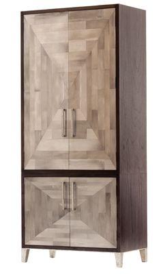 "Parker Armoire - Hardwood Frame w/Resin Veneer  40""W x 21.5""D x 89.75""H"