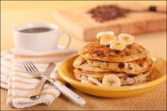 Chocolate Chunk Flap Jacks are the perfect way to start out the morning.