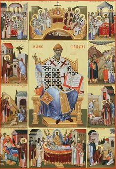 Constantine Olarean: the Painter of Saints from Cyprus Byzantine Icons, Byzantine Art, Anima Christi, Church Icon, Art Roman, Medieval Paintings, Christ Is Risen, Russian Icons, Religious Paintings