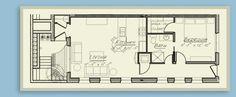 Downtown Columbus Garden Flat Floor Plans | Downtown Columbus Condos | Columbus, Ohio 43215