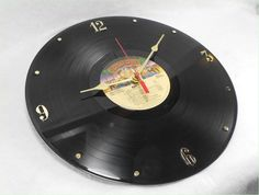 KISS Alive II - Recycled Record Vinyl Wall Clock