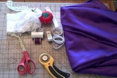 Making a garter belt. Watch this tutorial to learn how to make one.- plus use dads old ties as the fabric