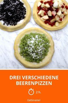 Drei verschiedene Beerenpizzen - smarter - Zeit: 2 Std.   eatsmarter.de