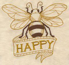 bee happy tattoo   Bee Happy :)