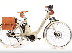 piaggio electric wi-bike. Will notify owners if it's stolen.