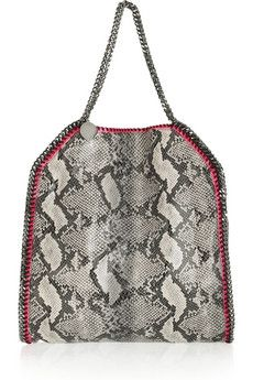 Stella McCartney | Falabella faux python shoulder bag