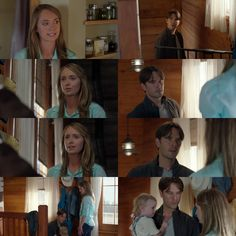 Amy: Ty! This is not who we are. We always said we wouldn't be a traditional family where the mom stays home, and the dad goes to work. But somehow I feel like that's exactly what's happened. Ty: Amy, I would give anything to stay at home, look after Lyndy, and do my work here. But I can't. Amy: I know that. I just was hoping that we could share this more like we said we would. Ty: We are! Amy: No, we're not, Ty! Not really. Ty: I'll be back soon. Amy: Come here, sweetheart. Lyndy: Mommy…