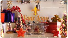 Christmas Shopping Logo (Holidays) #Envato #Videohive #aftereffects