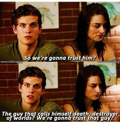 He's got a point... Isaac Lahey - Season 3 - Teen Wolf. ♥