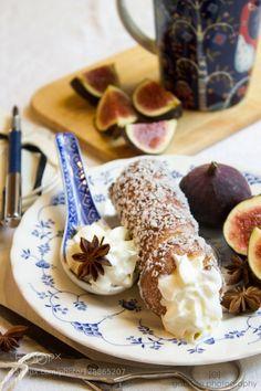 Lunch break Pt 1 by Gabrielephotography IFTTT 500px Kürtőskalács afternoon anise chimney cake coconut cream delicious dessert eat fig food