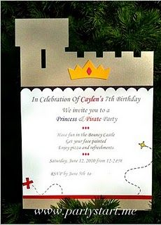 A Knight Birthday Party