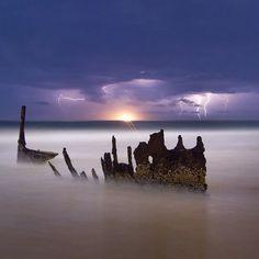 Storm at Dicky Beach #dickybeach #storm #Australia #sunshinecoast