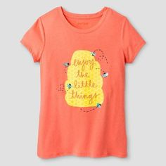 d1ee9e0c6 Girls' Enjoy The Little Things Short Sleeve Graphic Tee Cat & Jack™ -