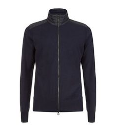 BELSTAFF Kelby Knitted Zip Jacket. #belstaff #cloth #