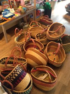 the African Baskets have arrived..
