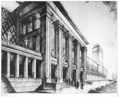 Государственный Академический Большой Кинотеатр.Арх.Д. Чечулин 1936.