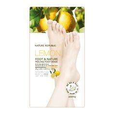 FOOT & NATURE PEELING FOOT MASK - Nature Republic